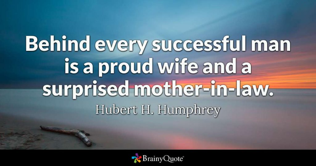 hubert humphrey mother-in-law